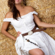 Mexican Country Girl — Stock Photo
