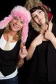 Goofy Hats — Stock Photo