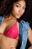 Sexy Black Woman — Stock Photo