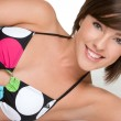 Smiling Bikini Girl — Stock Photo #3378368