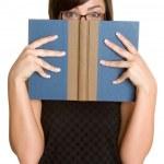 Book Woman — Stock Photo
