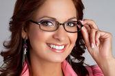Eyeglasses Woman — Stock Photo