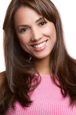 Smiling Latin Woman — Stock Photo