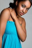 Pretty Black Woman — Stockfoto