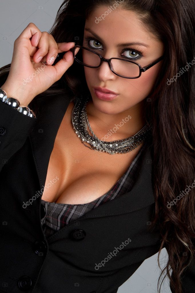 depositphotos 3571622 Woman Wearing Glasses Thus, I said goodbye to the sexy Latina look and embraced the new fairer ME.