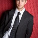 Handsome Businessman — Stock Photo