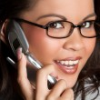 Telephone Woman — Stock Photo #3702483