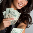 Money Woman — Stock Photo #3702498
