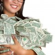 Money Woman — Stock Photo #3702578