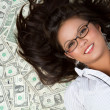 Money Woman — Stock Photo #3702601