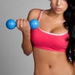 Exercising Woman — Stock Photo