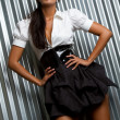 Latin Fashion Model - Stock Photo