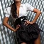 Latin Fashion Model — Stock Photo