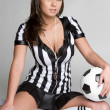 Royalty-Free Stock Photo: Sexy Referee Girl