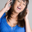 Singing Girl — Stock Photo #3733899