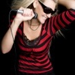 Rock Star Girl - Stock Photo