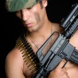Stock Photo: Army Man