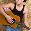 Stock Photo: Country Music Man