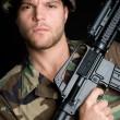 Soldier — Stock Photo