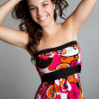 Smiling Teen Girl — Stockfoto
