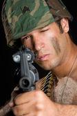 軍の男性 — ストック写真