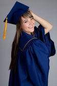 Graduating Girl — Stock Photo