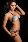 Latin Bikini Woman — Stock Photo
