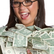 Money Woman — Stock Photo #3794898