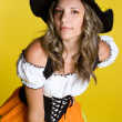 Halloween Witch — Stockfoto