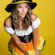 Pretty Halloween Witch — Stock Photo #3796020