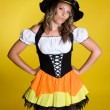 Halloween Witch — Stock Photo #3796024