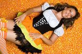 Happy Halloween Woman — Foto de Stock