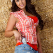 Pretty Cowgirl - Stock Photo