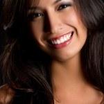Smiling Latin Woman — Stock Photo