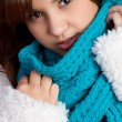 Winter Scarf Girl — Stock Photo #3843252