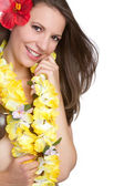 Tropical Woman — Stock Photo