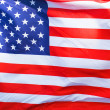 Photo: An American flag background