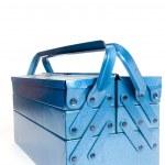 caja de herramientas azul — Foto de Stock