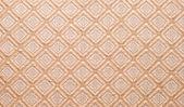 Diamond shaped design on fabric — Stock Photo