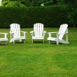 Lawn Chairs — Stock Photo