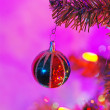 Christmas decoration on a tree — Stock Photo