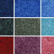 Colorful carpet samples — Stock Photo #3262977