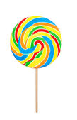 Colorful lollipop — Stock Photo