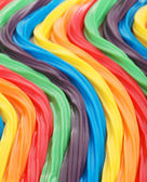 Colorful licorice — Zdjęcie stockowe