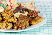 Cookies and Treats closeup — Stock Photo