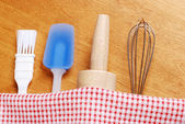 Kitchen baking utensils — Stock Photo