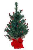偽のミニ クリスマス ツリー — ストック写真