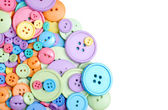 Isolated clothing buttons — Stock Photo