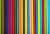 Lots of pencil crayons — Stock Photo