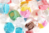Lots of salt water taffy — Stock Photo